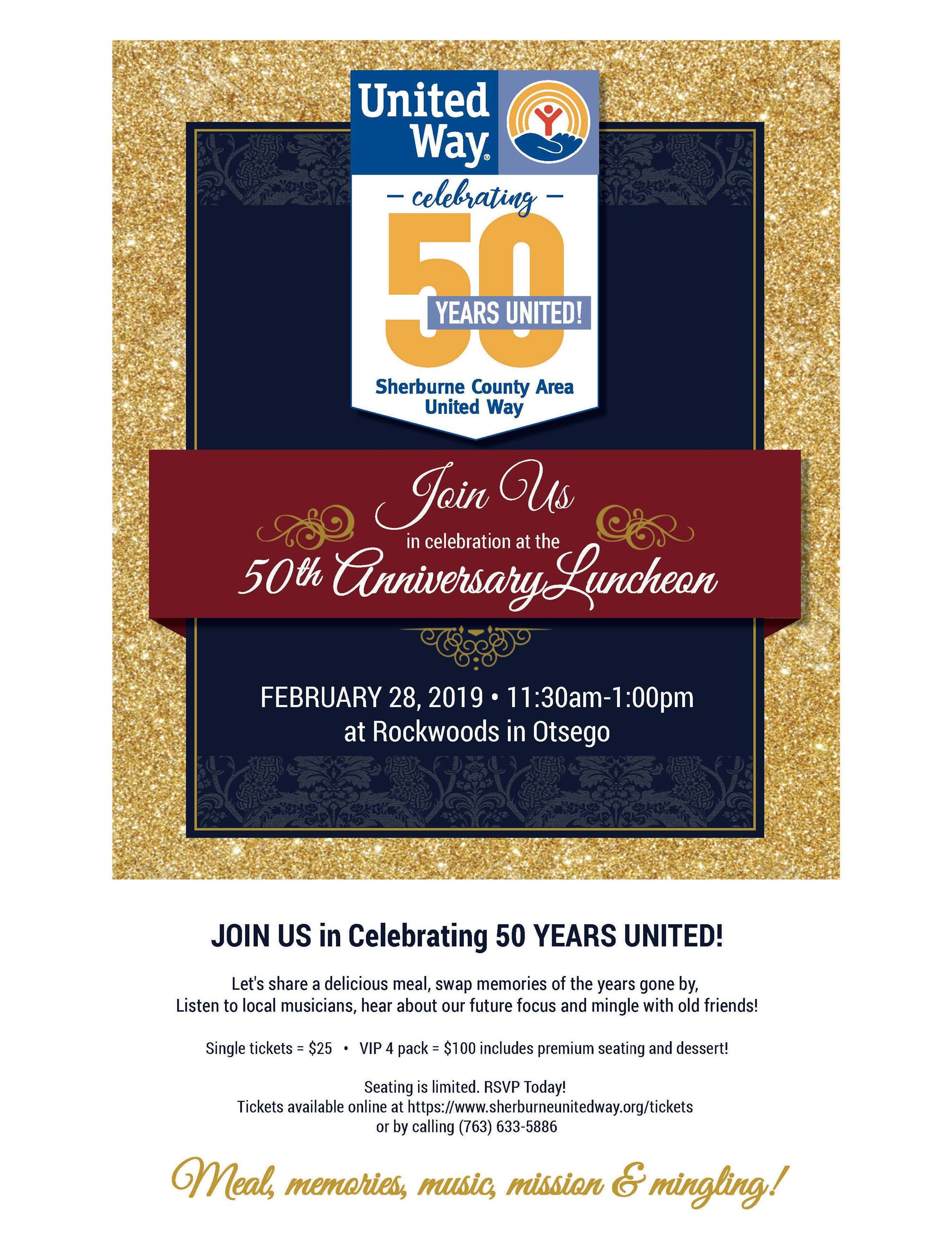Sherburne County United Way 50th