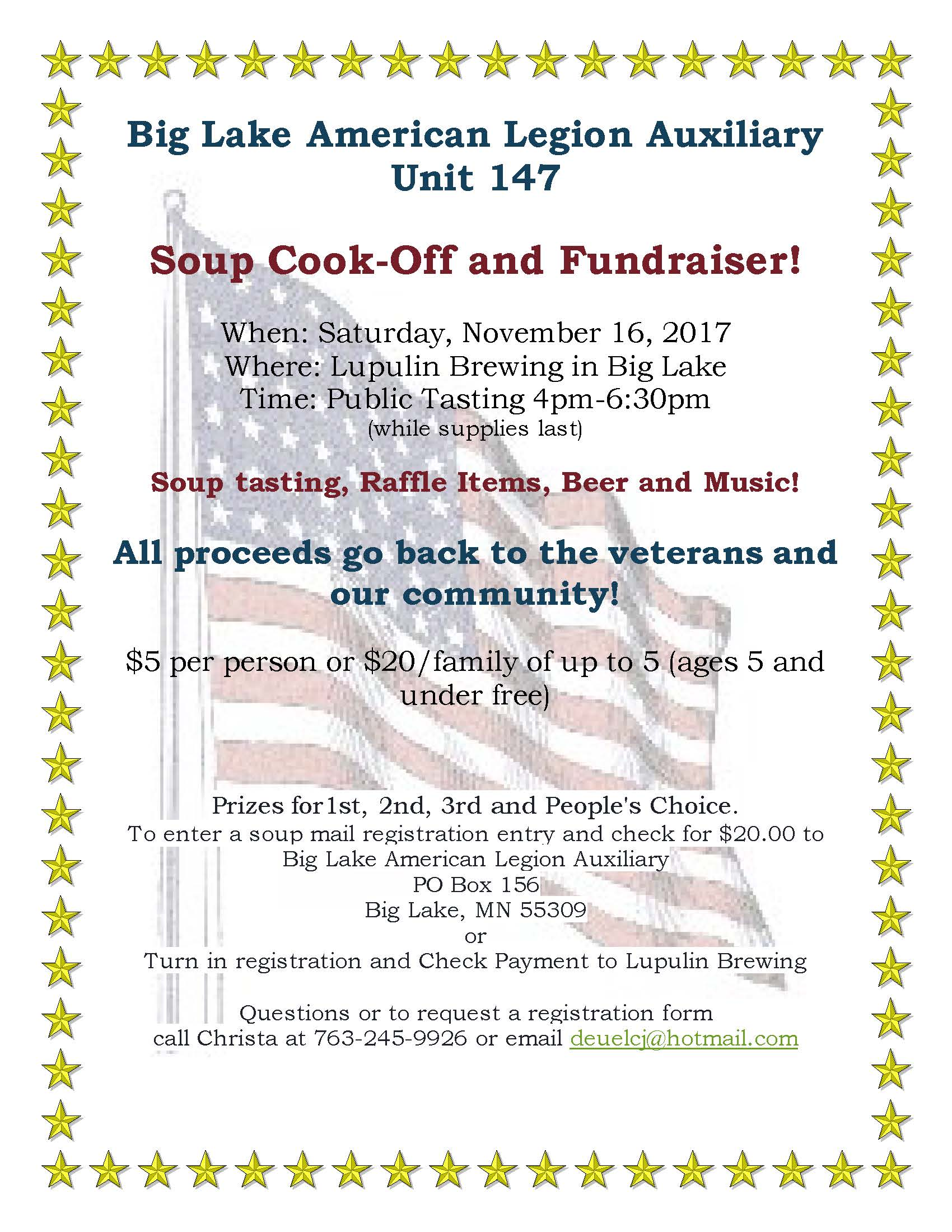 American Legion Soup Cook Off