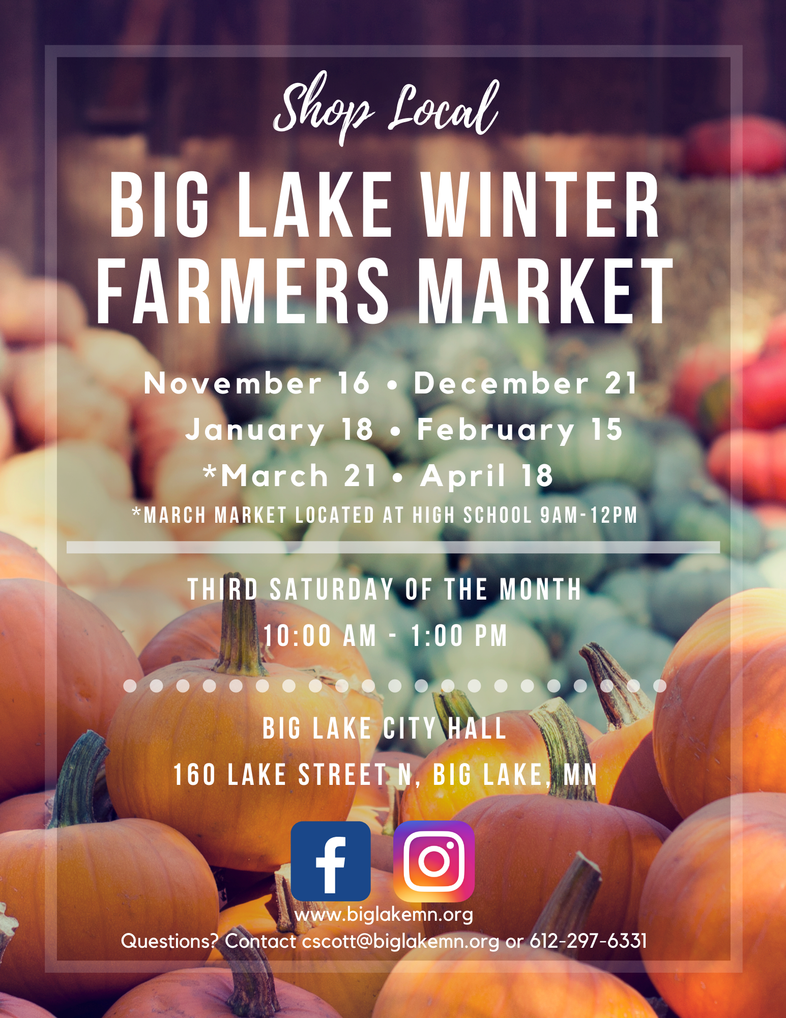 Winter Market Flyer Updated