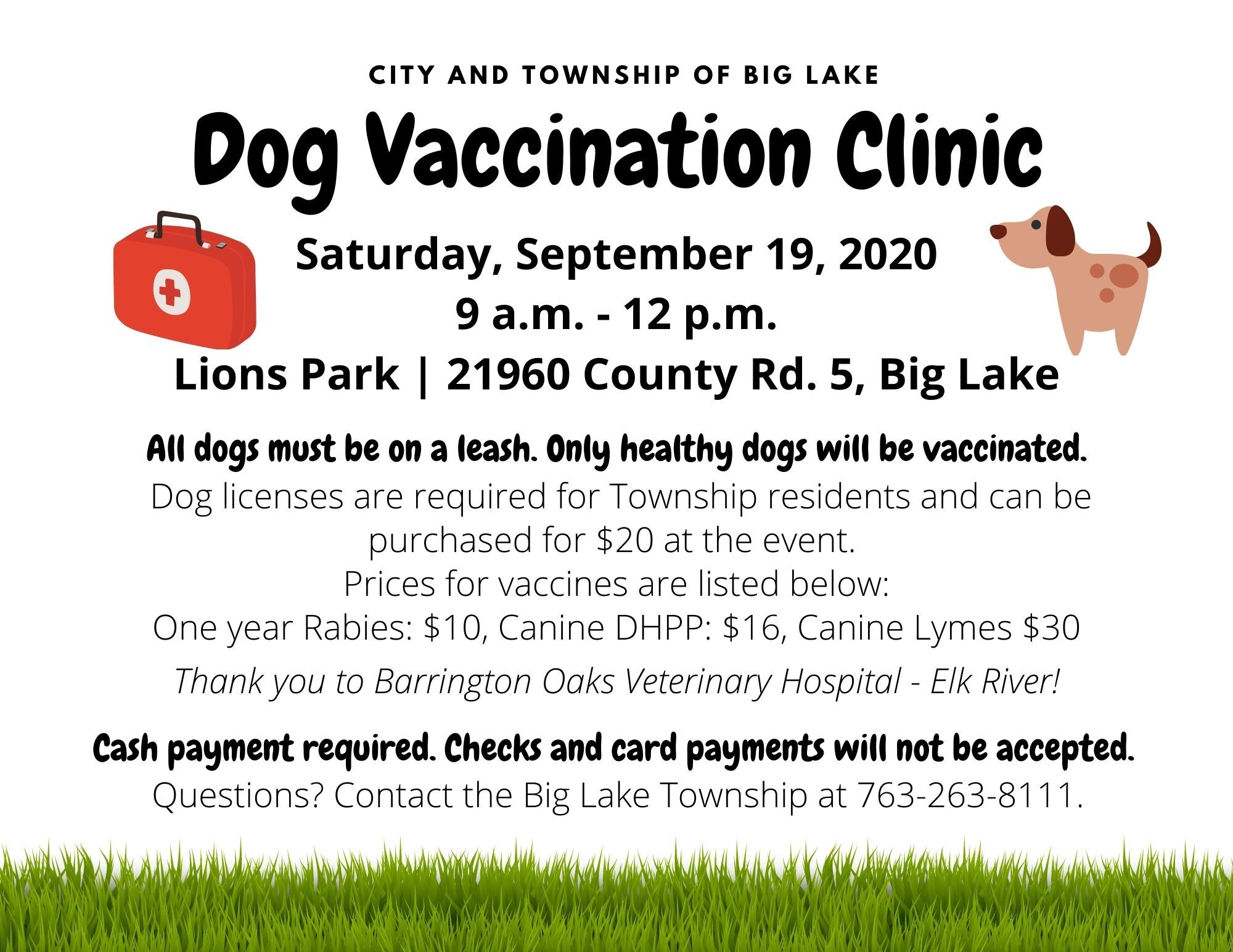 2020 Dog Clinic - Website