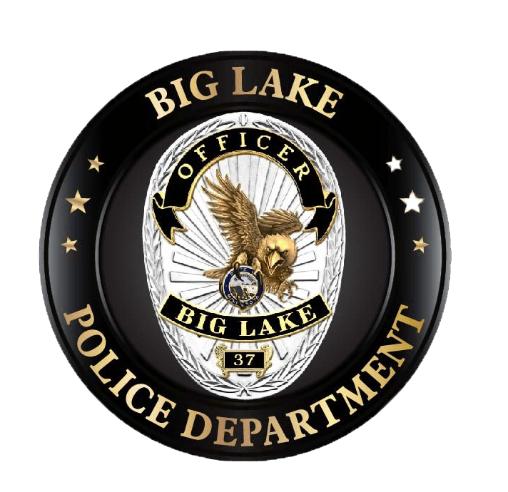 BLPD Challenge Coin Badge Clear