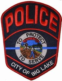 Big Lake Police Badge 6