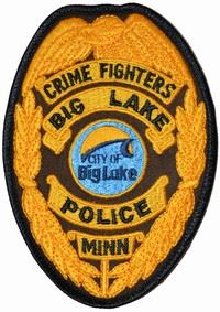 Big Lake Police Badge 3