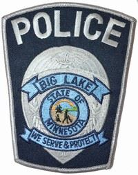 Big Lake Police Badge 4