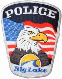 Big Lake Police Badge 5