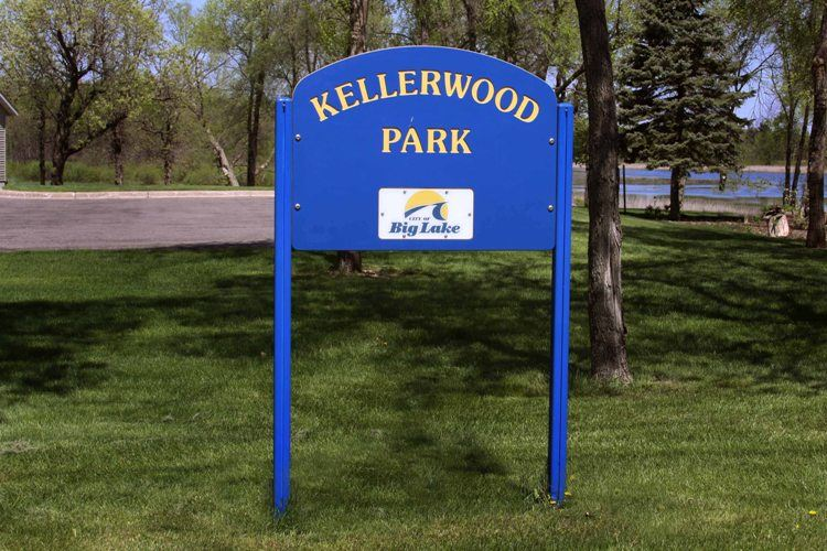 Kellerwood Park Sign