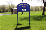 Lake Ridge Park Sign